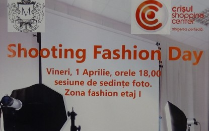 Shooting Fashion Day la Crişul Shopping Center