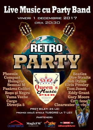 Retro Party la Queens Music Pub