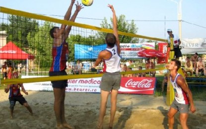 Turneu național de beach volley la Oradea
