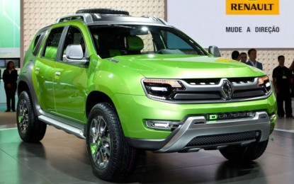 Renault Concept DCross – Duster din viitor!