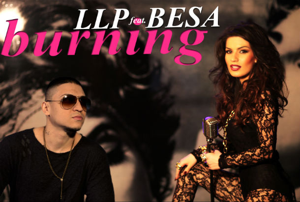 LLP feat Besa - Burning - Cover