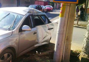 masina accidentata oradea