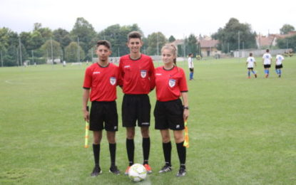 Arbitrii bihoreni la Intersport Youth Footbal Festival 2018 Kaposvar