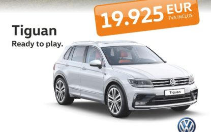 "Tiguan e ""Ready To Play"" de la 19.925 Euro, TVA inclus!"