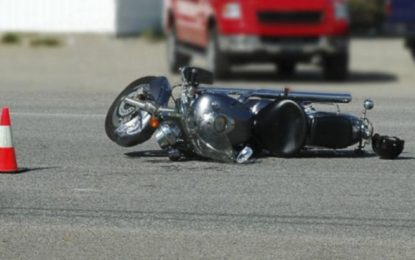 Motociclist accidentat la Gurbediu