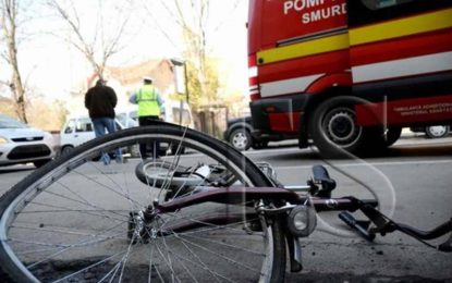 Biciclist accidentat mortal la Salonta